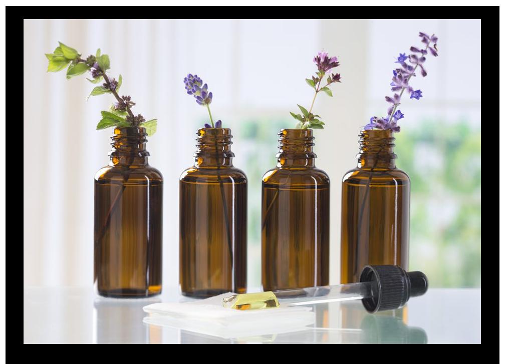 esencias naturales y aceites esenciales